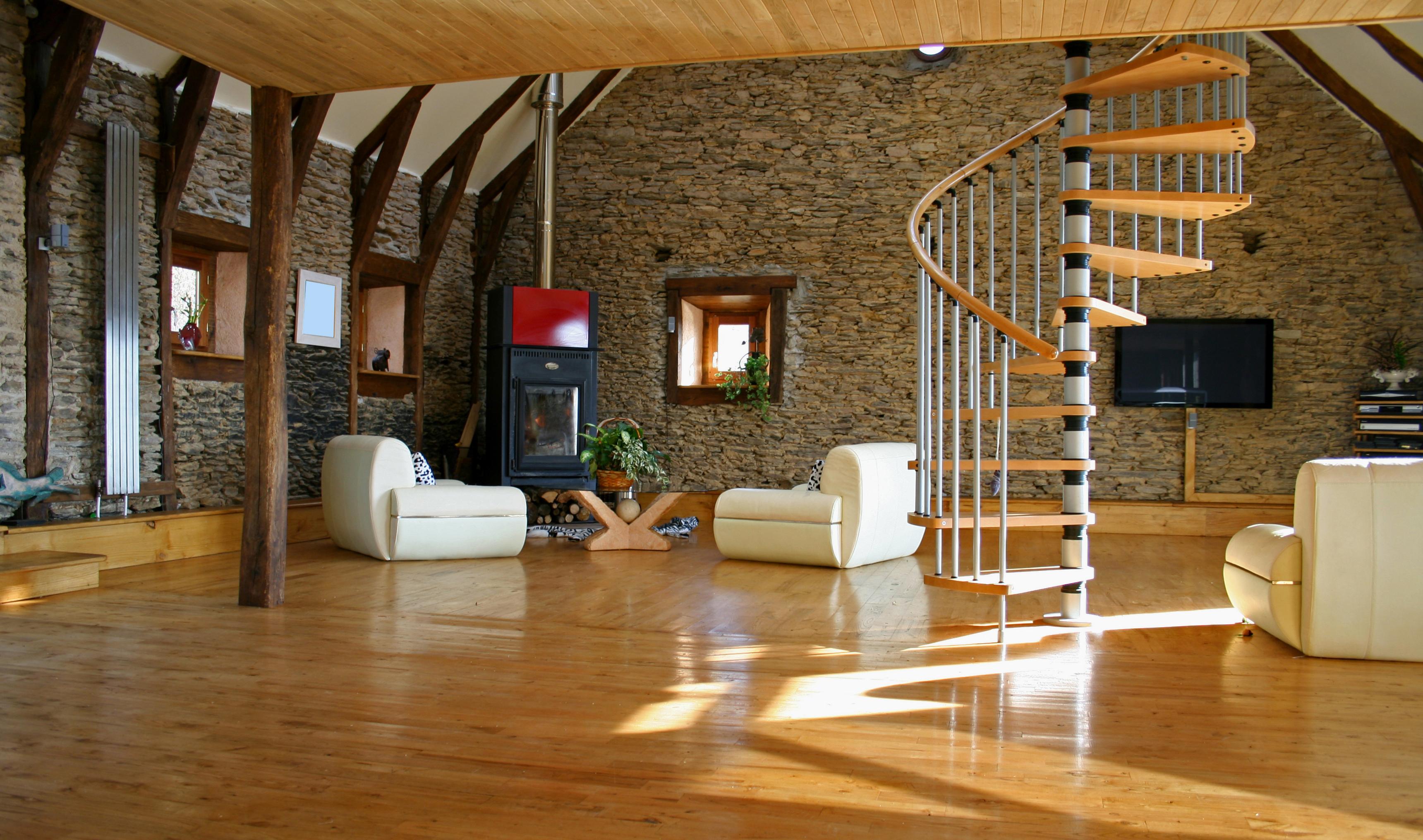 Bruckmüller GmbH | Perfekte Böden aus Meisterhand | Wohnzimmer mit Holzboden